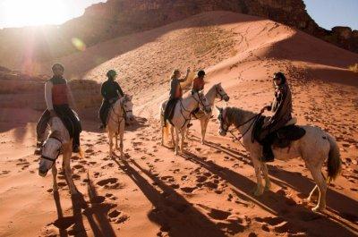 2 days Horse riding tour in Jordan